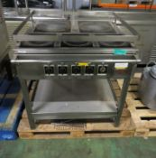 Kempsafe Naval Kitchen 5-Hotplate Unit - L900 x W870 x H980mm