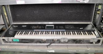 Korg Triton Extreme Keyboard In carry case