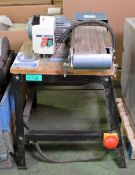 AJH Bandfacer Unit & Stand - L800 x W660 x H1000mm