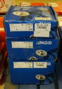3x Pagid Brake Disc Sets - Please see pictures for model numbers