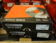 2x Drivemaster Brake Disc Sets - Please see pictures for model numbers