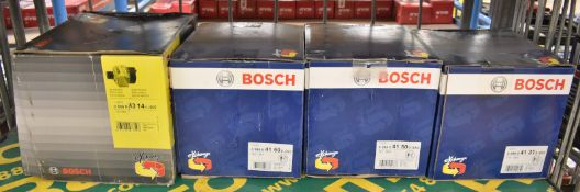 4x Bosch Alternators - Please see pictures for model numbers