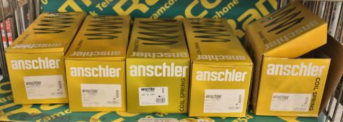 5x Anschler coil springs - see pictures for model numbers