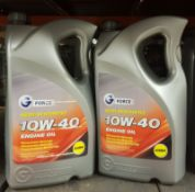 2x G Force Semi-Synthetic 10W-40 A3/B4 Engine Oil - 5L