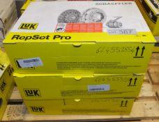 3x LUK Schaeffler Repset Pro Clutch Kits - Models - 624 3378 34 & 624 3553 33 x2