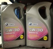 2x G Force Fully Synthetic 5W-30 A5/B5 Engine Oil - 5L