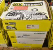 4x LUK Repset Clutch Kits (2x Schaeffler)- Models - 625 3102 00, 641 11 0000, 624 3371 00