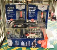 3x Bluecol Car to Car Jump Start Chargers