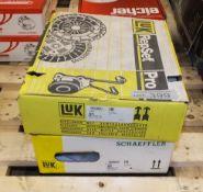 2x LUK Repset Pro (1x Schaeffler) Clutch Kits - Models - 621 2127 33 & 623 3241 34