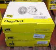 3x LUK Schaeffler Repset Clutch Kits - Models - 622 3226 09, 624 3218 00 x2