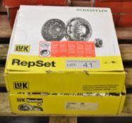 2x LUK Repset Clutch Kits (1x Schaeffler) - Models - 624 3278 09 & 623 3094 00