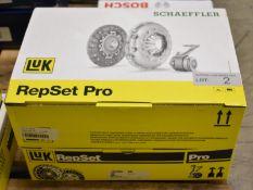 2x LUK Repset Pro Clutch Kits - Models - 623 3772 33 & 623 3151 34