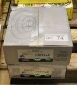 2x LPR Brake Disc Sets - models - M2026V & F2081P