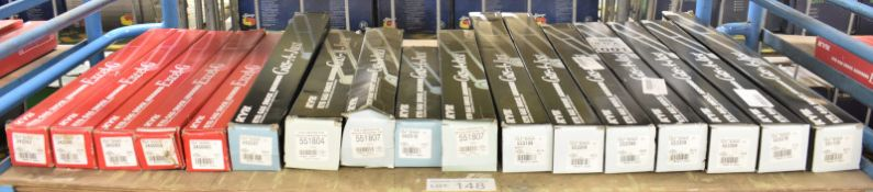 5x KYB Excel-G & 12x KYB Gas-A-Just Gas Shock Absorbers - Please see pictures for examples