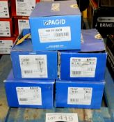 5x Pagid Brake Pad Sets - Please see pictures for model numbers