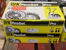 2x LUK Repset Pro Clutch Kits - Models - 624 3224 34 & 623 2976 33