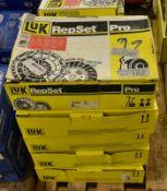 6x LUK RepSet Pro - Clutch kits - 624 3170 34, 624 3553 33, 624 3378 34, 624 3375 33, 626