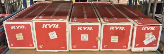 5x KYB Gas Shock Absorbers - Please see pictures for examples of model numbers