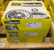 3x LUK Repset Clutch Kits - Models - 623 3141 00, 624 1929 00 & 624 1846 00