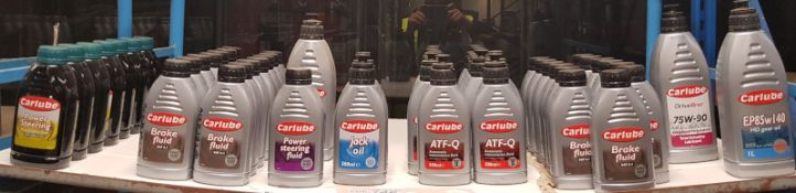 Carlube Fluid & Oil Assortment - Please check pictures for specific models