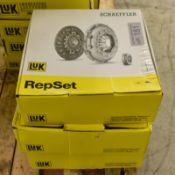 3x LUK Schaeffler RepSet - Clutch kits - 624 3530 00, 624 3535 00, 624 3371 00