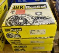 3x LUK RepSet - Clutch kits - 624 3085 00, 625 3044 09, 625 3022 00