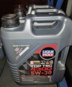 3x Liqui Moly Top Tec 4300 5W-30 HC Motor Oil - 5L