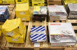 Mintex Coated Brake Disc Sets, Bosch Brake Disc & Brake Drum Sets - Please see pictures fo