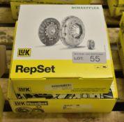 2x LUK Repset Clutch Kits (1x Schaeffler) - Models - 620 3086 00 & 623 3196 00