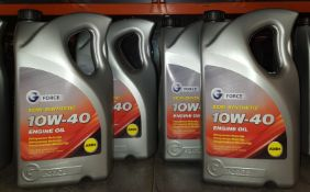 4x G Force Semi-Synthetic 10W-40 A3/B4 Engine Oil - 5L