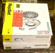 2x LUK Schaeffler Repset Clutch Kits - Models - 623 3111 09 & 624 3267 00