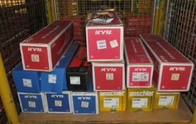 KYB, Sachs, Anschler, Drivemaster Shock Absorbers Assortment - Please see pictures for exa