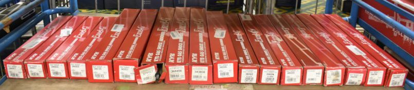18x KYB Excel-G Gas Shock Absorbers - Please see pictures for examples of model numbers