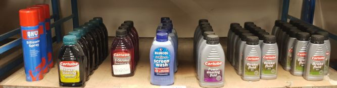 Carlube Fluid and Oil, QH Silicone Spray, Bluecol Screen Wash Assortment - Please check pi