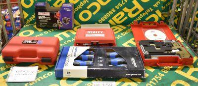 Gedore powergrip 3 screwdriver set, AST BMW twin cam engine setting / locking tool kit - M