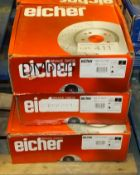 3x Eicher Brake Disc Sets - Please see pictures for model numbers