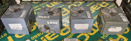 4x Q-Drive Wheel Bearing Kits - Please see pictures for examples of model numbers