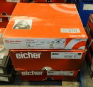 2x Eicher & 1x Brembo Brake Disc Sets - Please see pictures for model numbers