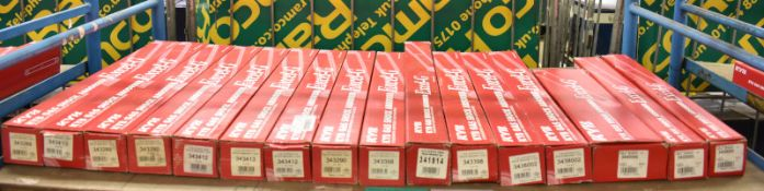 16x KYB Excel-G Gas Shock Absorbers - Please see pictures for examples of model numbers