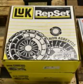 2x LUK Repset Clutch Kits - Models - 628 3191 00 & 628 3166 00