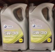 2x G Force Fully Synthetic 5W-30 A3/B4 Engine Oil - 5L