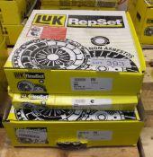 3x LUK Repset Clutch Kits - Models - 623 3041 00, 623 1157 00 & 624 3371 00