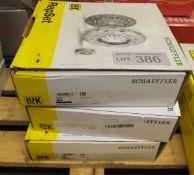3x LUK Schaeffler Repset Clutch Kits - Models - 641 7354 20, 622 3132 09 & 620 3268 00