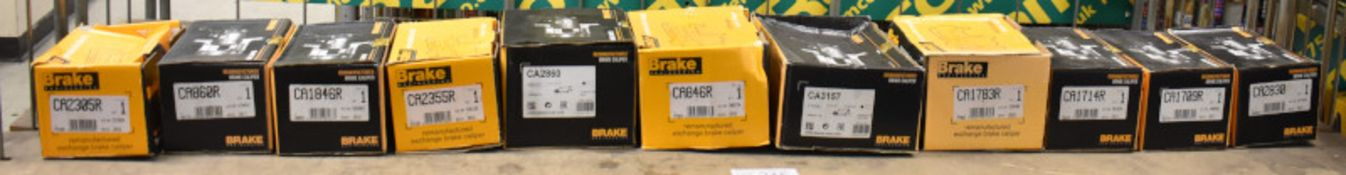11x Brake engineering brake calipers - see pictures for model numbers