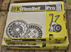 2x LUK Repset Pro Clutch Kits - Models - 624 3156 34 & 624 3148 34