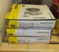 3x LUK Schaeffler Repset Clutch Kits - Models - 624 3698 09, 641 7355 10 & 624 3417 00