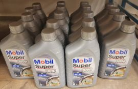 18x Mobil Super 3000 XE 5W-30 Fully Synthetic Motor Oil - 1L