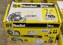 2x LUK Repset Pro Clutch Kits - Models - 622 3049 33 & 623 2131 33