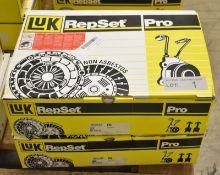 2x LUK Repset Pro Clutch Kits - Models - 624 3136 34 & 623 3155 33