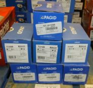 7x Pagid Brake Pad Sets - Please see pictures for model numbers